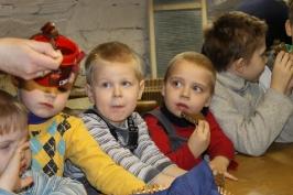 Lūznavas un Ozolaines pagastu bērnudārza audzēkņi apmeklē muzeju Rēzeknē 22.02.2017._25