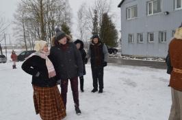 Senioru deju kolektīvs LŪZNAVA piedalījās Meteņdienas pasākumā Ozolaines pagastā 26.02.2017._26