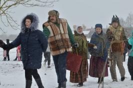 Senioru deju kolektīvs LŪZNAVA piedalījās Meteņdienas pasākumā Ozolaines pagastā 26.02.2017._6