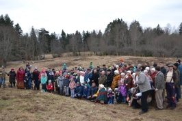 100 ozolu meža stādīšana Lūznavā_1