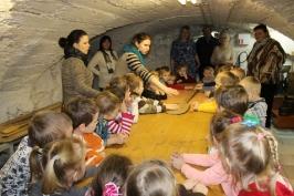 Lūznavas un Ozolaines pagastu bērnudārza audzēkņi apmeklē muzeju Rēzeknē 22.02.2017._16