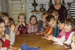 Lūznavas un Ozolaines pagastu bērnudārza audzēkņi apmeklē muzeju Rēzeknē 22.02.2017._24